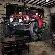 Mural 3D Wallpaper Mural Jeep Off-Road ...