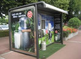 Eco Vending Machine Magnificent French Vending Machine Dispenses Fresh Raw Local Milk 48 Hours A Day