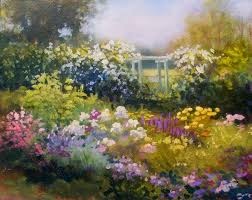 spring landscape paintings images becuo