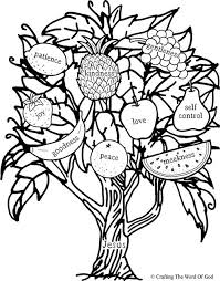 Free Fruit Of The Spirit Coloring Pages Fruit Of The Spirit Peace