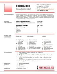 Accounting Resume Templates Delectable Accounting Assistant Resume Template 28