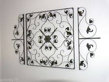 iron iron canvas on wrought iron wall art perth wa with art wall sculptures ebay
