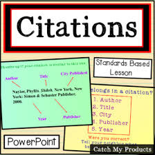 In Text Citation Practice For Books