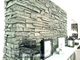 furniture rock panels for fireplace faux stone fake removing the