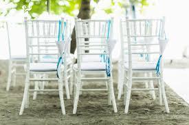 beach wedding chairs. Blue And White Chair Arrangment, Beach Wedding, Wedding Seating, Tropical Chairs