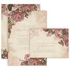 Vintage Wedding Invitation Vintage Wedding Invitations Anns Bridal Bargains