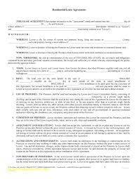 Sample Sublease Agreement Free Sublease Agreement Template Residential Texas Lease