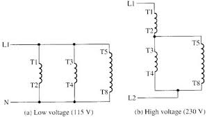 single phase motor connection diagram single image dual voltage motor wiring diagram dual wiring diagrams on single phase motor connection diagram