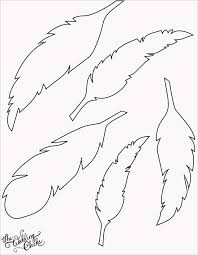feather template diy feather bunting love feather template templates paper