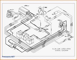 Volt club car golf cart wiring diagram for gas within