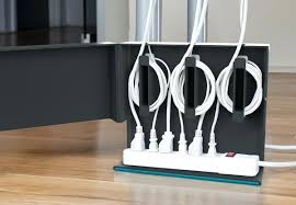 how to organize cables plug hub power strip and cable box by quirky how to  organize