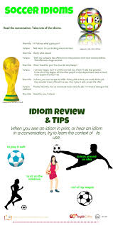 soccer idioms live learn quiz