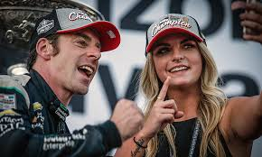 How They Met: Simon Pagenaud and Hailey McDermott