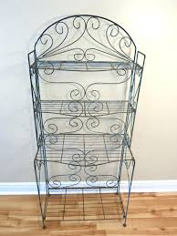 antique wrought iron bakers rack wrought iron bakers rack plant stand vintage wrought iron bakers rack antique wrought iron bakers rack