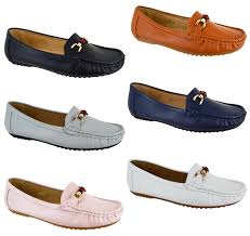 Ladies Shoes Design Details About Ladies Winter Comfy Flat Shoes Womens Designer Loafer Work Buckle Stylish Pumps