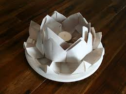 How To Make A Lotus Flower Out Of Paper How To Make A Floating Lotus Paper Lantern Chinese