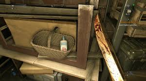 Dying Light Where S My Mother It Places The Lotion In The Basket It Does What It Is Told