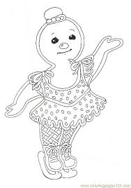 Gingerbread Girl Coloring Page Coloring Pages Gf Mural Gingerbread