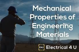 Mechanical Properties Of Engineering Materials Electrical4u