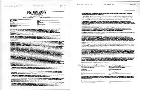 contract between 2 companies real world estimates magazine contract a photo editor