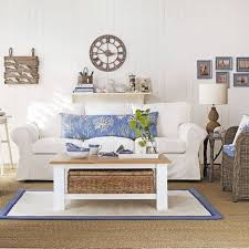 White Wall Decorations Living Room Beach Themed Living Room Ideas With White Sofa And Wall Decor