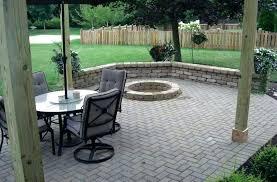 paver patio with fire pit.  Fire Paver Patio With Fire Pit Brick Ideas Images   To Paver Patio With Fire Pit