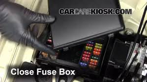 blown fuse check jaguar xj jaguar xj l l v 6 replace cover secure the cover and test component