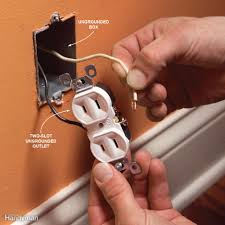mistake 5 installing a three slot receptacle without a ground wire