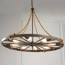 vintage wagon wheel light fixture wooden wheels for farmhouse rustic pendant barn lamp chandelier diy mason