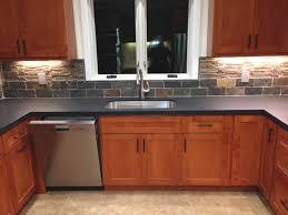 tile backsplash trim around window
