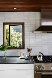 modern kitchen tiles. Contemporary Modern Earthy Modern Kitchen With Tile Backsplash Ideas 2017 Throughout Modern Kitchen Tiles