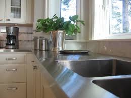 Cleaning Stainless Steel Countertops Diy Kitchen Countertop Ideas Countertops New Kitchen And Aesthetics