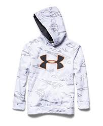 under armour youth hoodie. under armour big boys\u0027 armour® fleece camo logo hoodie youth large ridge reaper