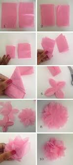 How To Make A Flower Out Of Tissue Paper Step By Step 23 Gambar Tissue Paper Wrapping Terbaik Paper Flowers Birthday