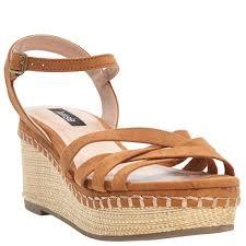 Kensie Texas Womens Strappy Woven Platform Sandals 548982517