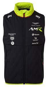 Amr Team ärmellose Weste Unisex Aston Martin Racing Kollektionen Aston Martin Lifestyle Collection