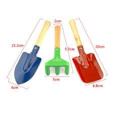 details about 3pcs childrens garden tools set trowel rake shovel outdoor beach toy beautiful