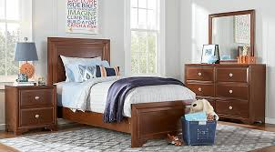 twin bedroom furniture sets. belcourt jr cherry 5 pc twin panel bedroom furniture sets