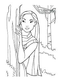 Disney Princess Coloring Page Domlinkovinfo
