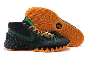 nike basketball shoes 2016 black. nike kyrie irving 1 black green orange basketball shoes for sale 2016 a