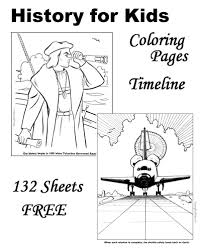 Small Picture American History coloring pages for kids