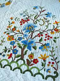 Amish Quilt Patterns Delectable Amish Quilts Designs Vintage Quilt Tree Of Life Pattern Amish Made