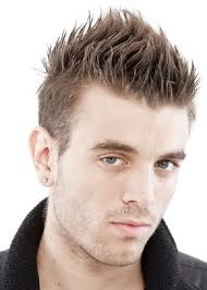 spikes mens short hairstyle
