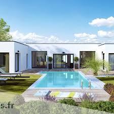 esthetia villa contemporaine pive plain pied garage double