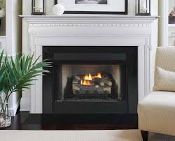 image of zero clearance gas fireplace plan