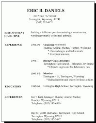 Resume Templates With No Work Experience Best No Job Experience Resume Fresh Examples Student Resumes With No Work