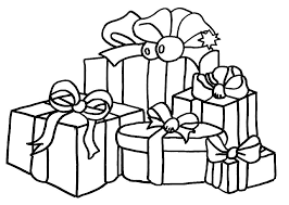 Gifts Coloring Pages