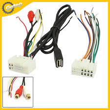 aliexpress com buy car stereo cd radio wire harness adapter usb car stereo cd radio wire harness adapter usb cable aux adapter auto electronic wire terminal conversion