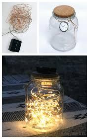 multi color outdoor solar jar design. Glass Jar And Solar Fairy Lights! Sooooo Easy. Looks So Pretty On Those Multi Color Outdoor Design