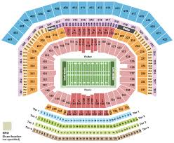 Big 12 Championship Seating Chart Levis Stadium Seating Chart Section Row Seat Number Info